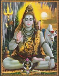 シヴァ神と聖牛ナンディン