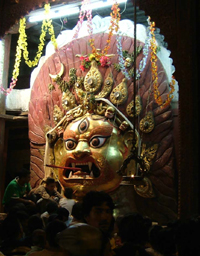 シヴァ神の暗黒面バイラヴァ